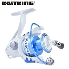 KastKing Superior Brand Summer Ratio 5.2:1 Carp Fishing Reel 9KG Max Drag Power 10BBs Aluminum Spool Folding Arm Spinning Reel