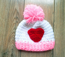 newborn hat ,new handmade crochet baby hat , crochet baby beanie caps , newborn crochet photography props size:0-1m,3-4m(China)