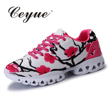 Summer Running Shoes Woman Outdoor Breathable Sneakers Athletic Sports Shoes Women Lace-Up Lightweight Shoes Zapatillas Mujer