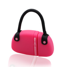 USB Flash Drive cute Pink handbag stick - USB 2.0 thumb pendrive memory stick Fashion usb disk for 4G/8G/16G/32G christmas Gift