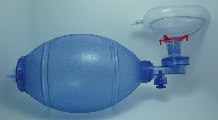Simple self-help respiratory/silica gel simple respirator /cardiopulmonary resuscitation (CPR) airbags cpr training aed<br>