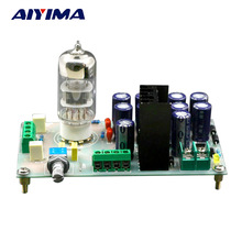 Aiyima AC12V 6N3 Tube Buffer Bile Pre-amplifier Board For Filtering Amplifier Audio Signal DIY KITS