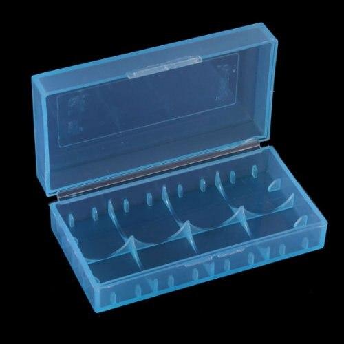 10x New Batteriebox Batterie Case Aufbewahrung Schutzbox Transport-Box Akkubox 18650 CR123A 16340 Blau<br><br>Aliexpress