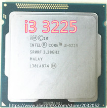 Intel Core i3-3225 i3 3225 I3 3225 Processor Intel HD Graphics 4000 (3M Cache, 3.30 GHz) LGA1155 Desktop CPU free shipping(China)