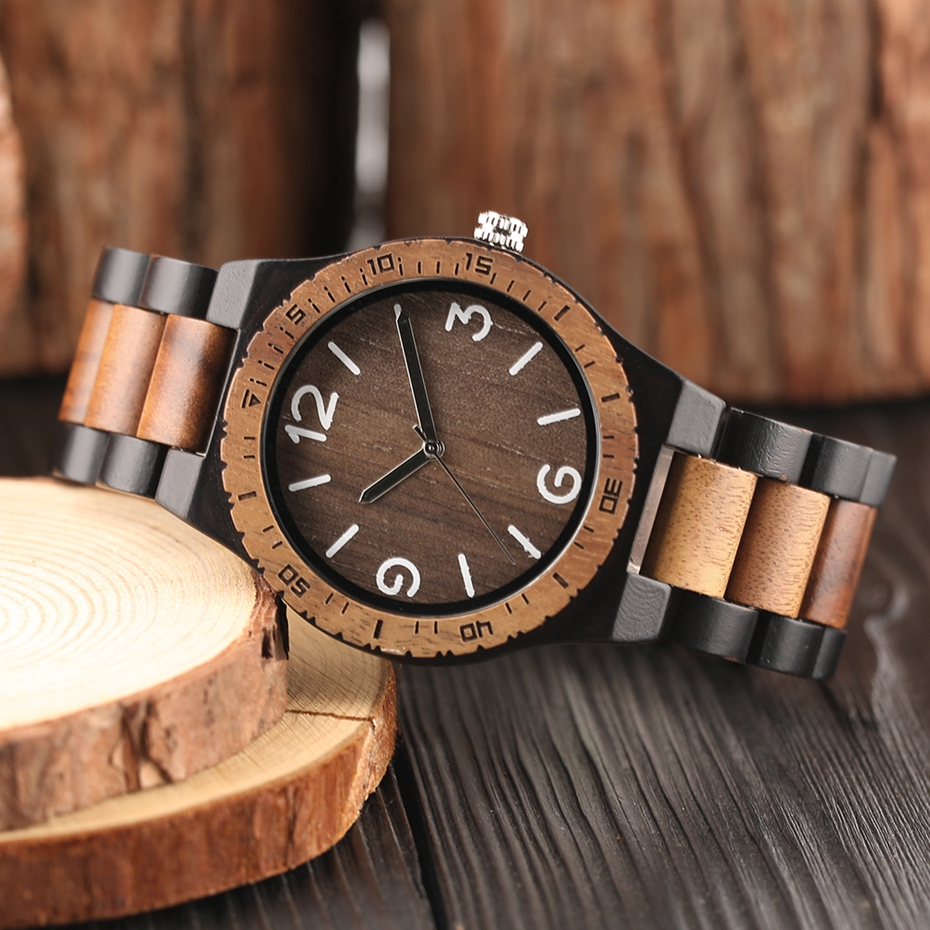 Men\`s Retro Full Wooden Creative Watch Man Quartz Novel Wood Sports Watches Mens Genuine Leather Hour Clock Gifts Reloj Hombre (9)