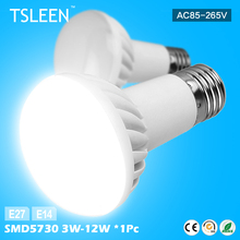 WX +Cheap+ R39 R50 R63 R80 LED Lamp E27 E14 Bulb 3W-12W Spotlight Lamp Bulbs Home Aisle Lights # TSLEEN