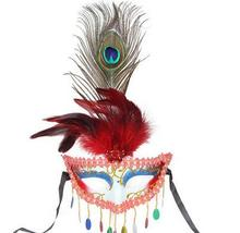 Peacock feather MASK  Venetian High quality Mask 10pcs/lot -6 color can choose