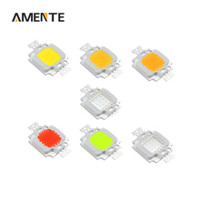Low Consumption 10W LED Integrated Chip COB Light Source 9-12V For Floodlight Spotlight White Red Green Blue Yellow RGB