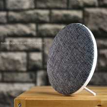 2017 new linen material wireless motion Bluetooth speaker M9 subwoofer creative outdoor speaker mini hifi sound.(China)