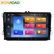 "Bonroad 2Din 9""Android 8.0 Octa Core PX5 Car DVD Player for VW Golf 5 Golf 6 Polo Passat Jetta Tiguan Touran For Skoda For Seat(China)"