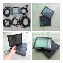 mb star diagnosis c3 with software hdd with laptop nec touch screen 2g used with battery ready to work 2 years warranty