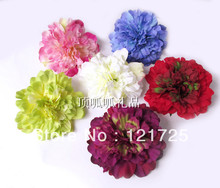 Free shipping Dahlia silk flower diy wedding decoration home decoration flower artificial flower 11cm