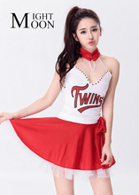 MOONIGHT Racing Cars Making Sexy Cheerleader Uniforms Clothing Ds Costume Clothing Modern Jazz Dance