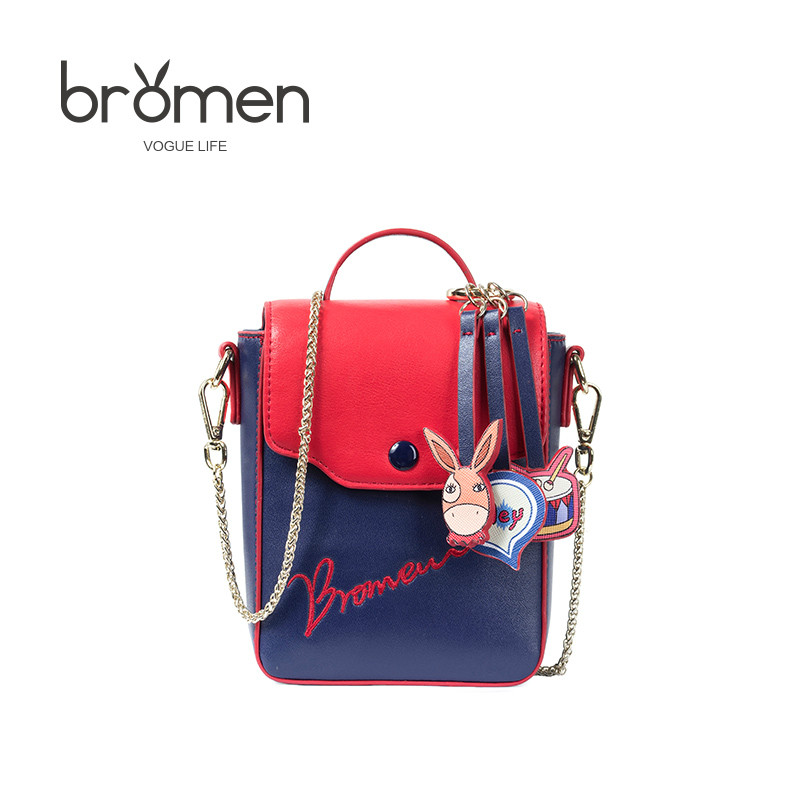 BROMEN Famous Designer Brands Fashion Bags for Women 2017 High Quality Ladies Party Day Clutches Fresh Style Crossbody Handbags<br>