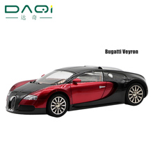 New hot 1:18 scale alloy die-casting models Bugatti Veyron kids toys car Wireless Bluetooth speaker gift Music Player TF and FM