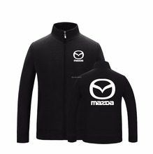 Winter autumn stand collar mazda sweatshirt letter after-sales maintenance work coat 4S shop jacket 7 styles(China)