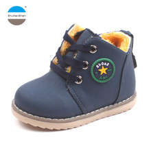 2017 1 to 5 years old winter children boot baby boy and girl snow boots keep warm kids cotton shoes high quality short boots