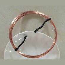 IB3126 Rose Gold filled wire,0.41mm wire,round, Hard wire,jewelry wire,sold by pack