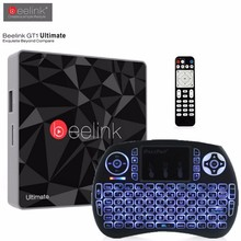 Original Beelink GT1 Ultimate TV Box 3G DDR4 32G Amlogic S912 Octa Core Android 6.0 Media Player 5G WiFi BT 4.0 Set Top - Shenzhen Duo Weiya E-Commerce Co., Ltd. Store store