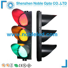300mm Solar powered road junctions LED traffic signal light