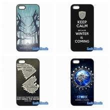 Cover For Blackberry Z10 Q10 HTC Desire 816 820 One X S M7 M8 Mini M9 A9 Plus Game Of Throne Winter is Coming Hard Phone Case