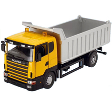 DIE CAST METAL 1/43 SCANIA TIPPER TRUCK MODEL TIPPING VEHICLE DUMP TRUCK REPLICA FREE SHIPPING