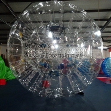 Cheap price 2.5m zorbing ball clear,soccer zorb ball for event