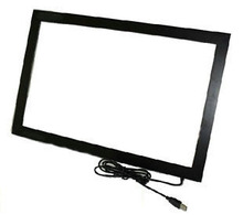 NEW!! 50 inch IR multi touchscreen overlay with 2 points touch for LCD/LED Monitor / PC