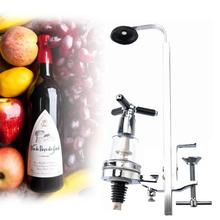 Table Mounted Wine Bar Butler With Single Optic 25ml Rotary 1 Shot Alcohol Dispenser Wine Stand Arts Design