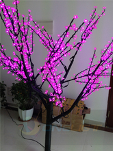 LED Christmas Tree 2M LED Cherry Blossom Tree Light Waterproof Landscape Lighting(China)
