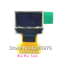2pcs 0.49 inch 14PIN White OLED Screen SSD1306 Drive IC 64*32 High quality