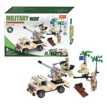 3in1 DIY Military war bricks soul of the Marines Armored Car assemblage building block Army Mini blocks compatible with bricks