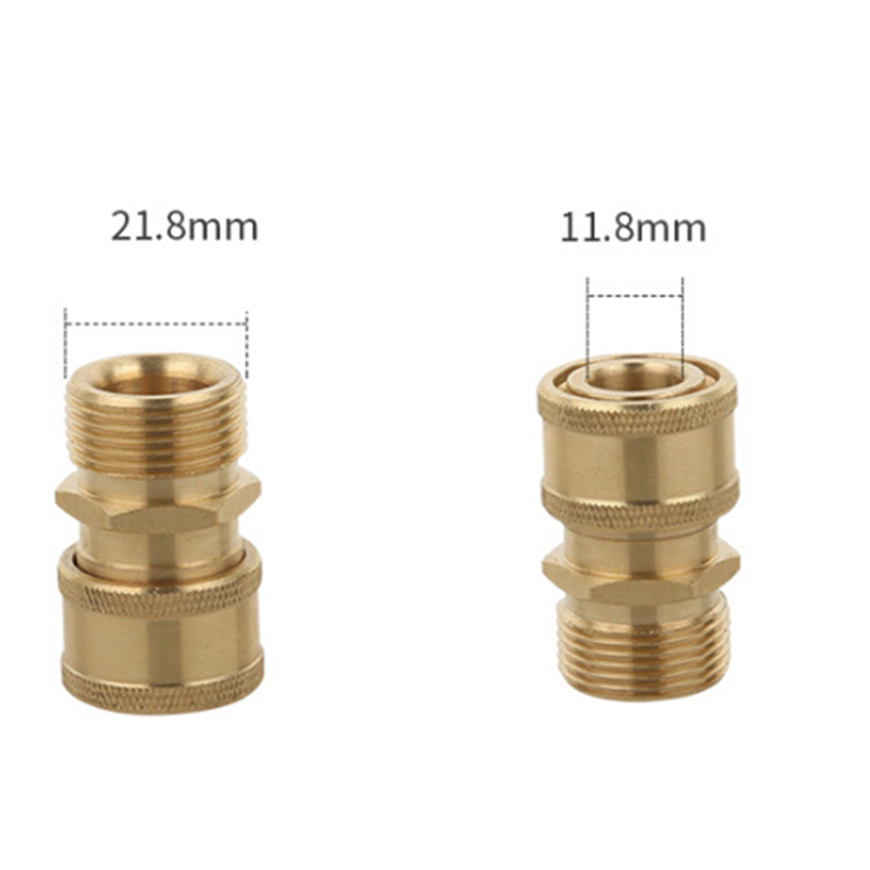 Compact Quick Release 11.6mm x 1//4 F Coupling