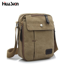 Huasign Men Messenger Bags Shoulder Bag Hot Sale Canvas Crossbody Bags High Quality Men's Travel Men Bag(China)