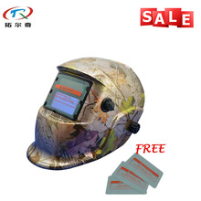 Motion Sensor Welding Mask Light Glass Filter Auto Darkening Hot Sell Filter Welding Helmet TRQ-HD04 with 2200de