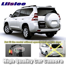 LiisLee Car Camera For TOYOTA Land Cruiser Prado LC 90 120 150 1996~2017 High Quality Rear View Back Up Camera For | CCD + RCA