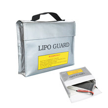 24*6.5*18cm Fireproof Lipo Battery Safety Bag Explosion-proof Guard Sack Fire Retardant Protection Bag for RC Battery Charging(China)
