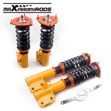 For Subaru Impreza WRX STI GC8 93-01 EJ20 EJ25  Coilovers Coilover Shock Absorber Strut Damper Force Spring Shocks Suspension