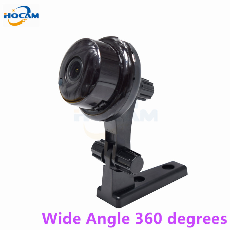 HQCAM 960P Wide Angle panoramic Mini Wireless Camera Wifi Two-way voice Indoor IR-CUT Night Vision Home Security IP Camera Wi-fi<br>
