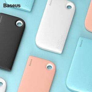 Распродажа Baseus Dual USB power Bank 8000 мАч портативное Внешнее зарядное устройство для samsung iPhone Xiaomi power bank