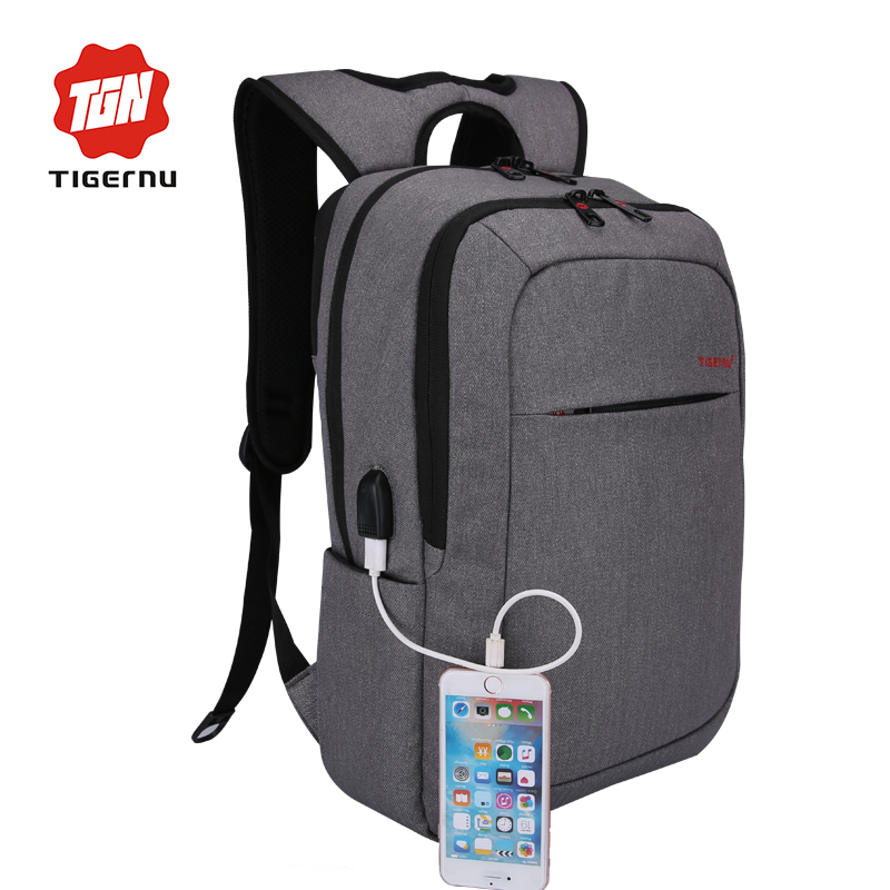 Tigernu Business Water Resistant Laptop Backpack with USB Charging Port and Lock Fits Under 15.6-Inch Laptop and Notebook<br><br>Aliexpress