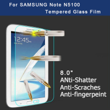 Premium Tempered Glass Screen Protector for Samsung Galaxy Note 8.0 N5100 N5110 Tablet Protective Film Free shipping