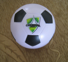 OEM 6.3cm dia  custom logo  pu foam football stress ball,soccer  anti stress ball,in printing your logo  50pcs/lot