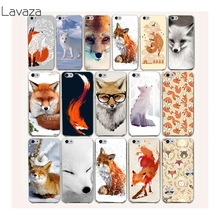 Lavaza 47af lovely cute snow fox Hard Case for iPhone 7 7 Plus 6 6S 8 8 Plus X 10 5 5S SE 5C 4S Cover(China)