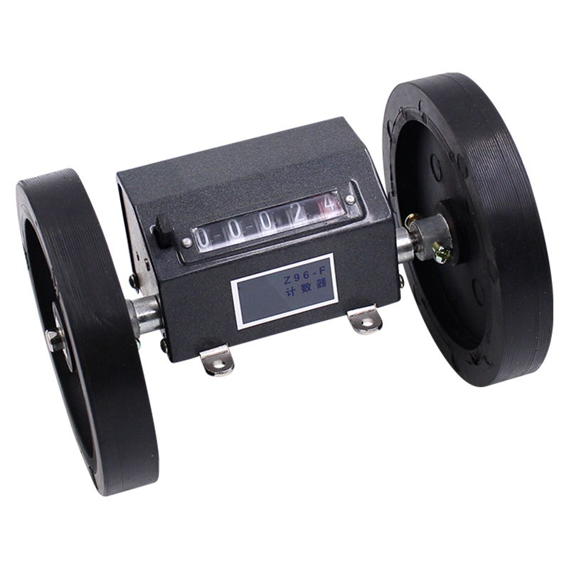 Z96-F-type textile meter meter 5-bit length meter can be reset reversible wheel counter<br>
