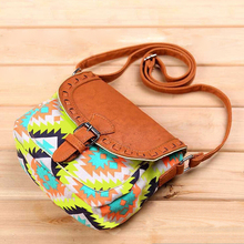 ANAWISHARE Summer Women Messenger Bags Canvas Print Crossbody Shoulder Bags Small Ladies Designer Handbags High Quality B3