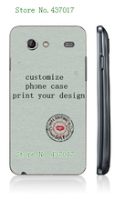 diy customize own design logo photo case hard plastic back cover case for Samsung galaxy s advance i9070,free shipping
