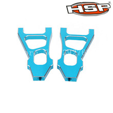 HSP 1/10 Scale Racing RC Car 94188 188019 Upgrade Parts Alum.Front Lower Arm 2Pcs For Nitro Power Off Road Truck Monster CNC(China)