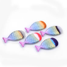 Mermaid Makeup Brushes Powder Blush Foundation Cosmetic Tools Chubby Fish tail Brush Contour BB Cream Rainbow Make up Brushes