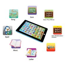 Kids Children Chinese English switch children 's educational machine Tablet IPAD Educational Learning Toys Gift(China)